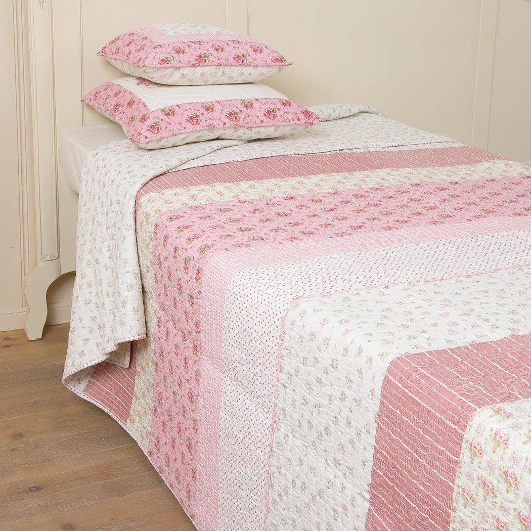 pink matroschka tagesdecke quilt 180x260cm clayre eef q094. Black Bedroom Furniture Sets. Home Design Ideas