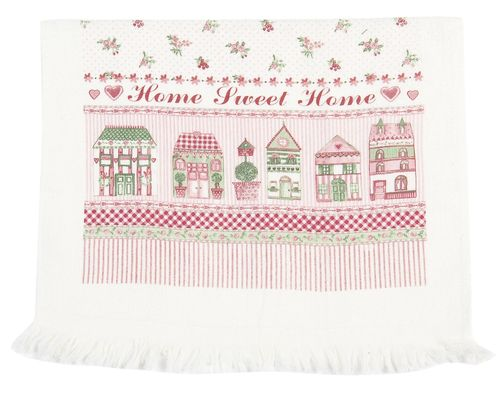 HSH SWEET HOME Gästehandtuch 40x60 Clayre & Eef