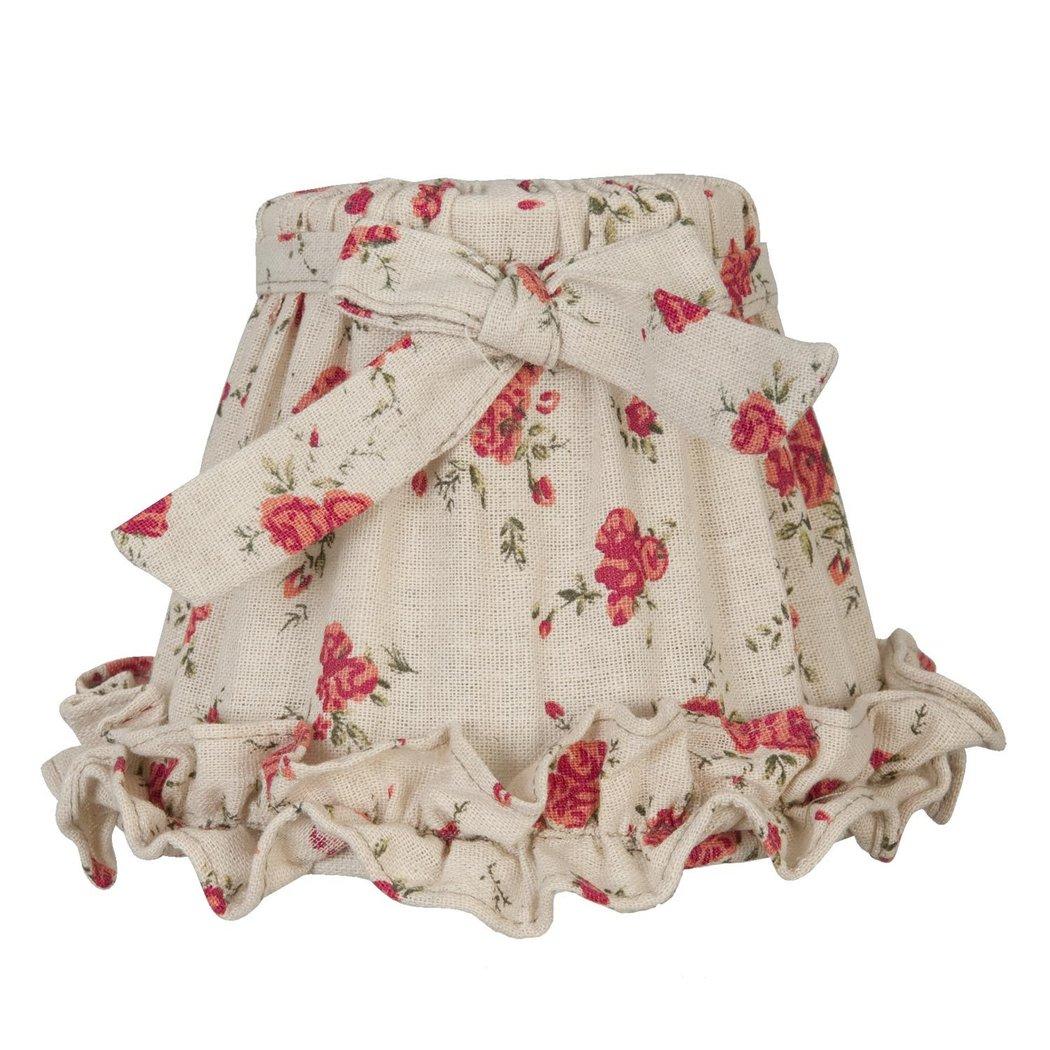 lampenschirm e14 floral 45 clayre eef 6lak0045. Black Bedroom Furniture Sets. Home Design Ideas