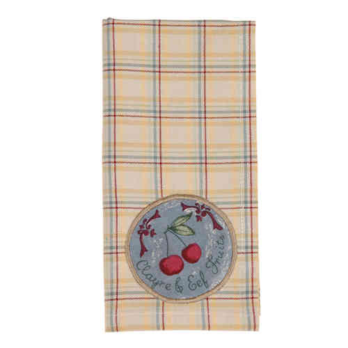 SEASON FRUITS Serviette 40x40cm Clayre & Eef