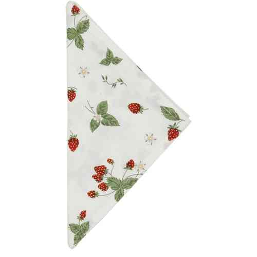STRAWBERRY GARDEN Serviette 40x40cm Clayre & Eef