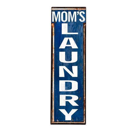 Vintage Metallschild MOM´S LAUNDRY 51cm