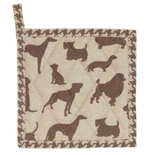 SILHOUETTE DOG Kinder - Topflappen Clayre & Eef