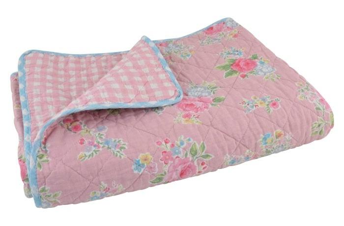 sandra rosa tagesdecke, quilt 180x130cm ib laursen denmark