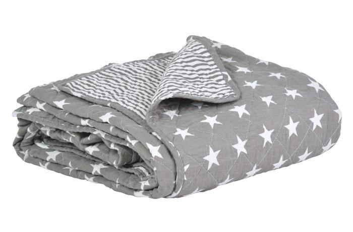 new england grau tagesdecke, quilt 130x180cm ib laursen denmark