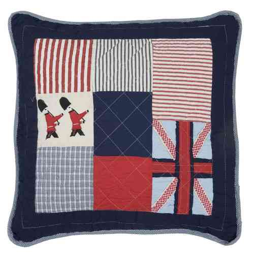 GREAT BRITAIN Kissenhülle 50x50cm Clayre & Eef