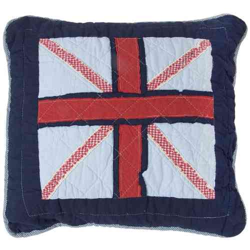 GREAT BRITAIN Kissenhülle 40x40cm Clayre & Eef