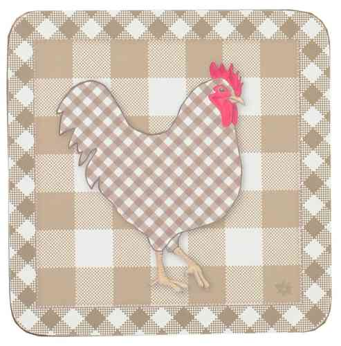 CHICKEN ALL OVER natur  Glasuntersetzer 6-teilig Clayre & Eef
