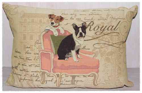 Dekokissen ROYAL DOGS  45x35cm
