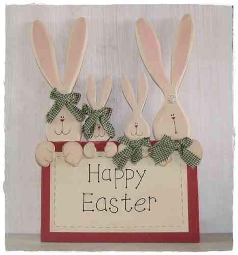 HAPPY EASTER Holzschild 29x40cm by Appletree