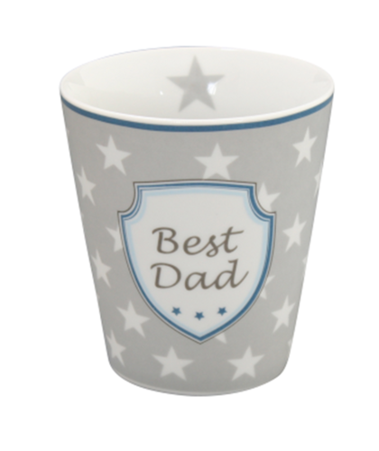 HAPPY MUG Becher BEST DAD HM49 by Krasilnikoff