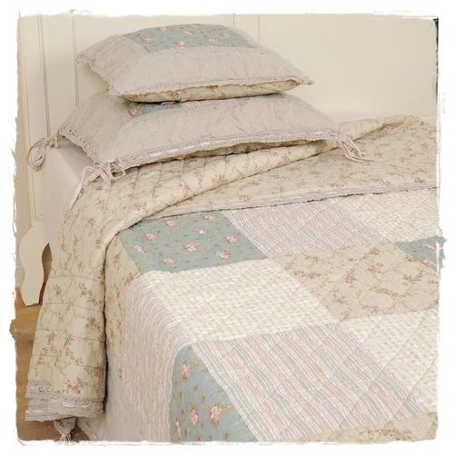 COUNTRY LIVING Tagesdecke, Quilt 230x260cm Clayre & Eef  Q077