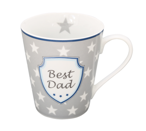 HAPPY MUG Becher BEST DAD HMH49 by Krasilnikoff