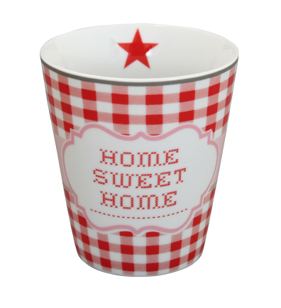 HAPPY MUG Becher HOME SWEET HOME HM41 by Krasilnikoff