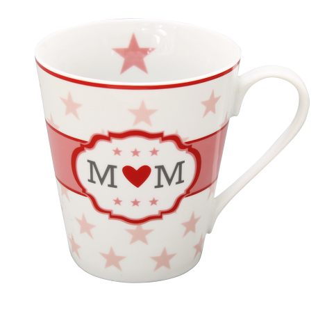 HAPPY MUG Becher M♥M MOM HMH90 by Krasilnikoff