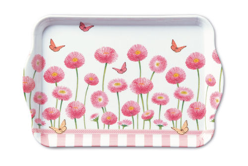 Tablett, Tray BELLIS ROSE 13x21cm  Ambiente