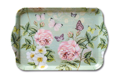 Tablett, Tray BOTANICAL 13x21cm Ambiente