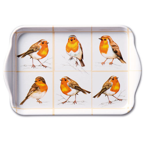 Tablett, Tray ROBINS FAMILY 13x21cm  Ambiente