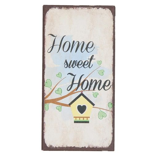 Magnet HOME SWEET HOME 5x10cm