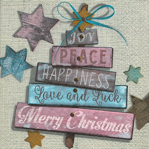20 Papierservietten, Servietten CHRISTMAS WISHES Paper+Design