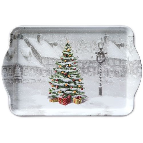Tablett, Tray BIG TREE 15x23cm  Ambiente