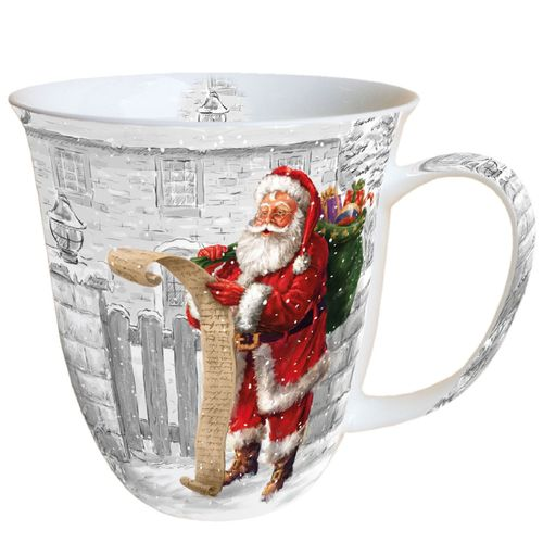 Tasse, Porzellantasse WISH LIST 0,4l Ambiente
