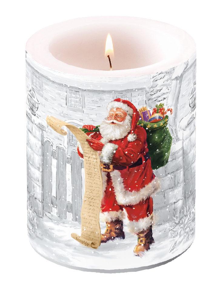 Kerze Weihnachten Lampionkerze HEART ON APPLE 12cm by AmbienteX-MAS