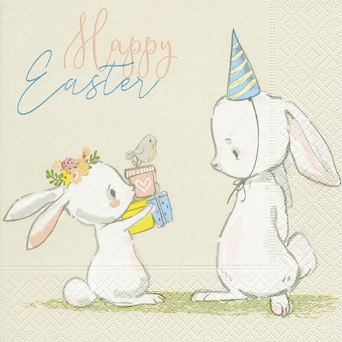 20 Papierservietten, Servietten EASTER SURPRISE Paper+Design