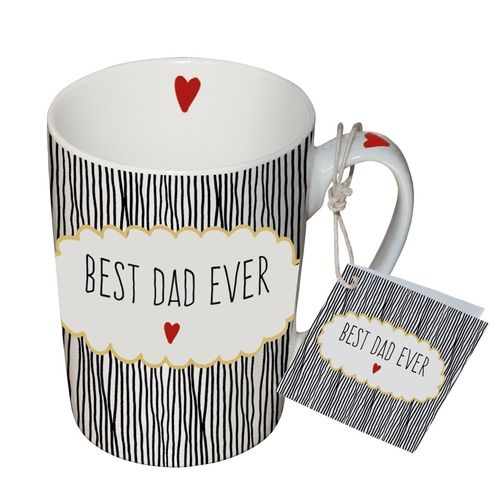 Henkelbecher, Tasse BEST DAD EVER 0,25l