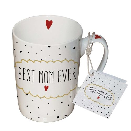 Henkelbecher, Tasse BEST MOM EVER 0,25l