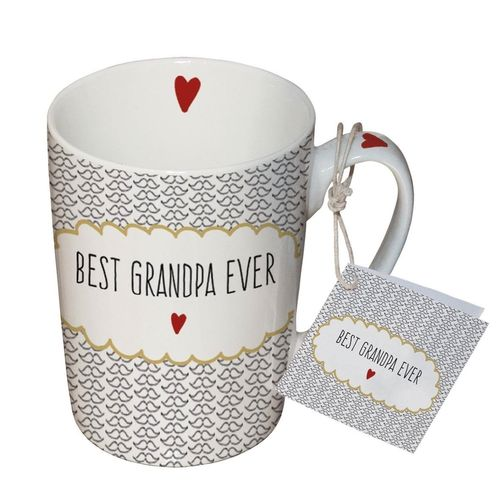 Henkelbecher, Tasse BEST GRANDPA EVER 0,25l