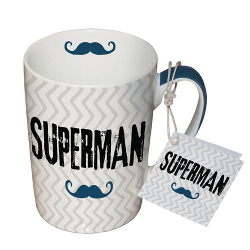 Henkelbecher, Tasse SUPERMAN 0,25l
