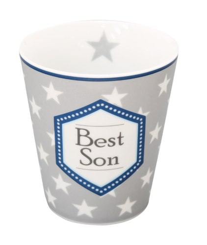 Becher BEST SON HM92 HAPPY MUG by Krasilnikoff