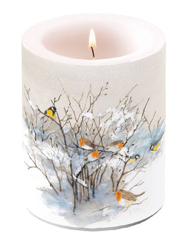 Kerze, Lampionkerze BIRDS ON BRANCHES 12cm  Ambiente