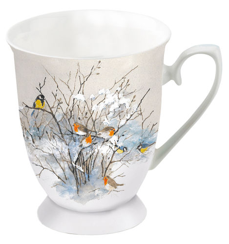Tasse, Porzellantasse BIRDS ON BRANCHES  0,25l Ambiente