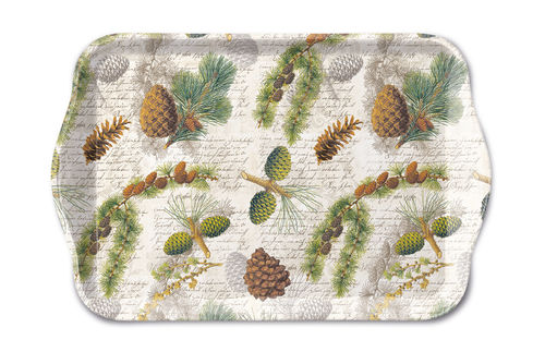 Tablett, Tray LIFE IN FOREST 13x21cm  Ambiente