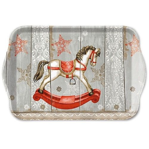 Tablett, Tray ROCKING HORSE 13x21cm  Ambiente