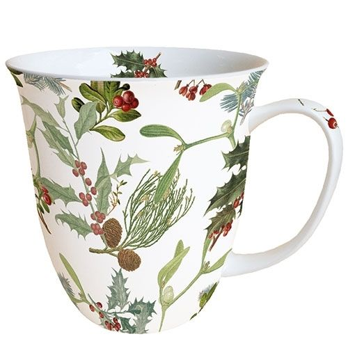 Tasse, Porzellantasse WINTER FEELING 0,4l Ambiente