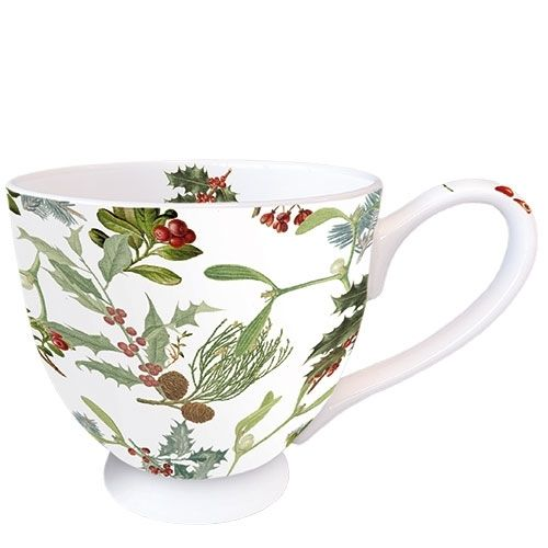 Tasse, Porzellantasse WINTER FEELING 0,45l Ambiente