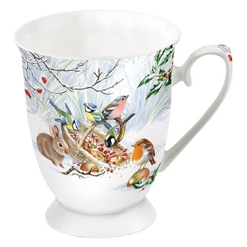 Tasse, Porzellantasse WINTER TREAT 0,25l Ambiente