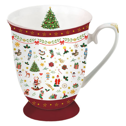 Tasse, Porzellantasse ORNAMENTS ALL OVER 0,25l Ambiente